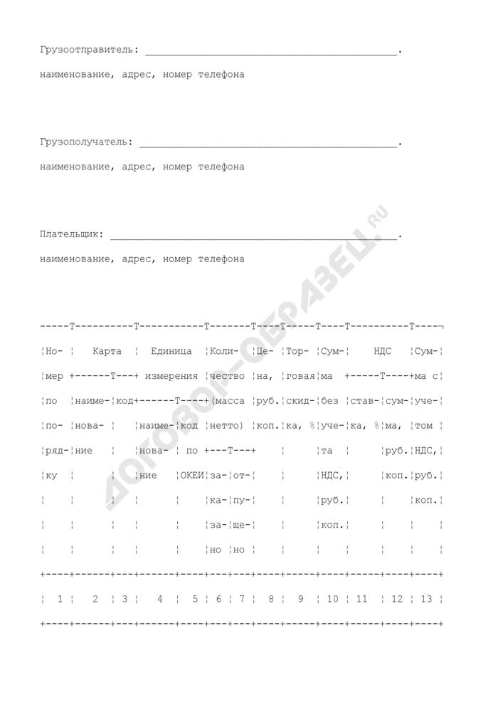 Заказ на отпуск карт (приложение к агентскому договору на распространение карт предоплаты услуг связи (Интернет, телефонные и т.п.)). Страница 2