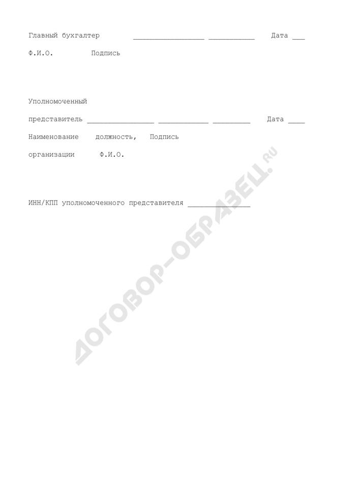 Реестр запасов и затрат, находящихся на балансе налогоплательщика, предназначенных исключительно для осуществления деятельности, предусмотренной соглашением о разделе продукции. Страница 3