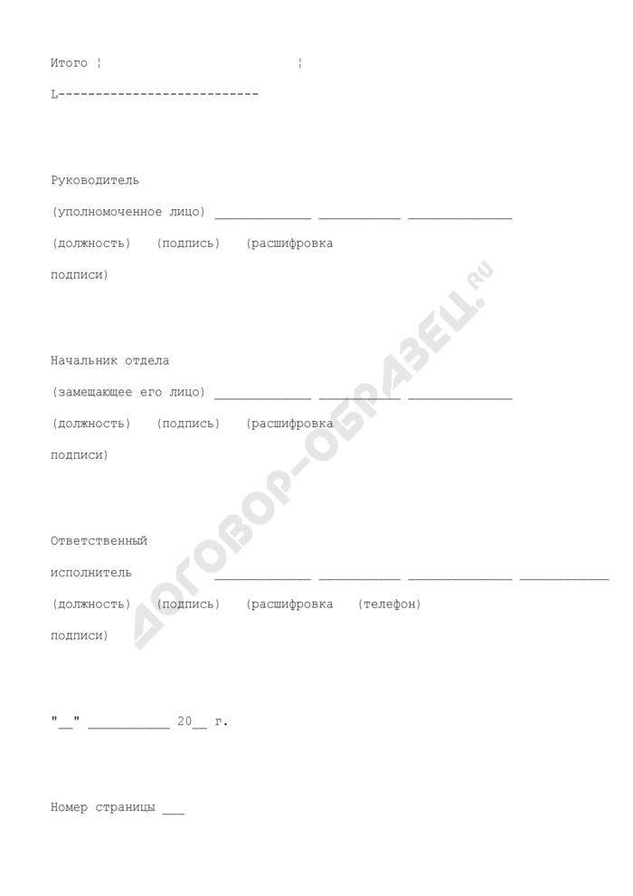 Реестр перечисленных поступлений. Страница 3