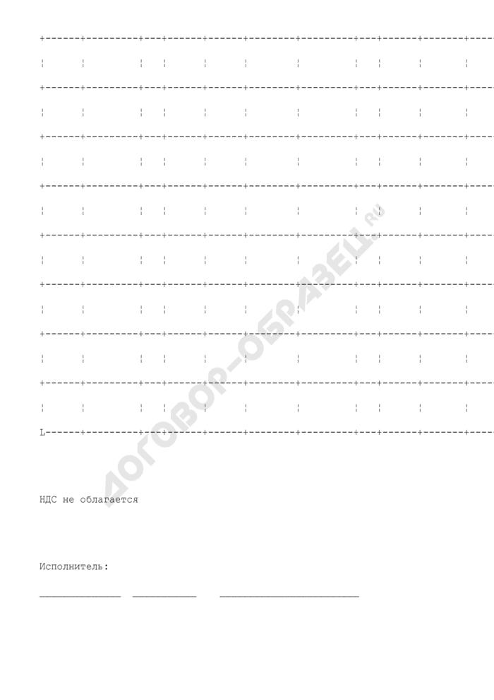 Образец реестра полетов воздушных судов в районах аэродромов. Страница 2