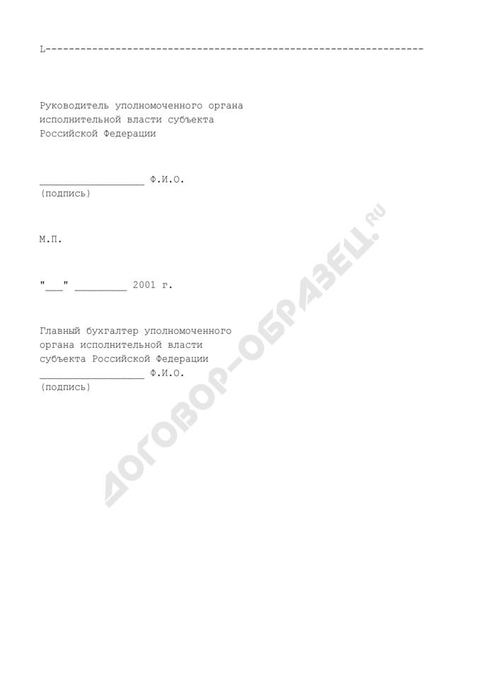 Перечень (реестр) получателей субсидий. Страница 2