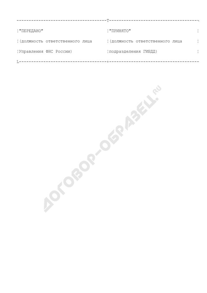 Реестр файлов корректировки сведений о транспортных средствах и лицах, за которыми они зарегистрированы. Страница 2