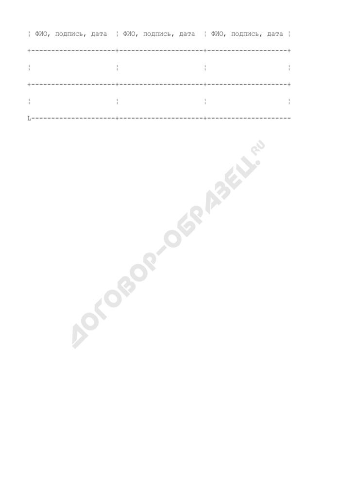 Форма спецификации на полупродукт и готовую продукцию (рекомендательная). Страница 3