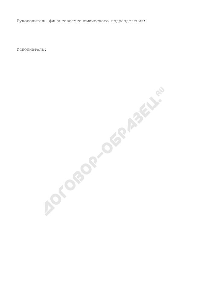 Бюджетная смета территориального органа Федерального агентства по обустройству государственной границы Российской Федерации. Страница 2