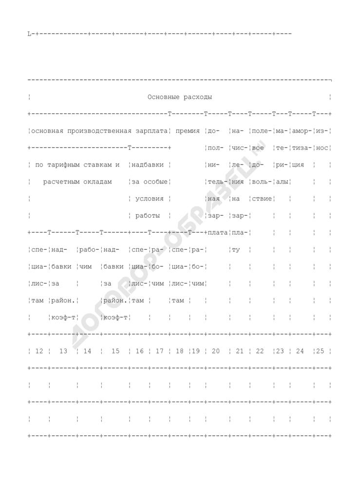 Сводная расчетная смета на производство топографо-геодезических и картографических работ по объекту. Форма N ПС-18. Страница 2