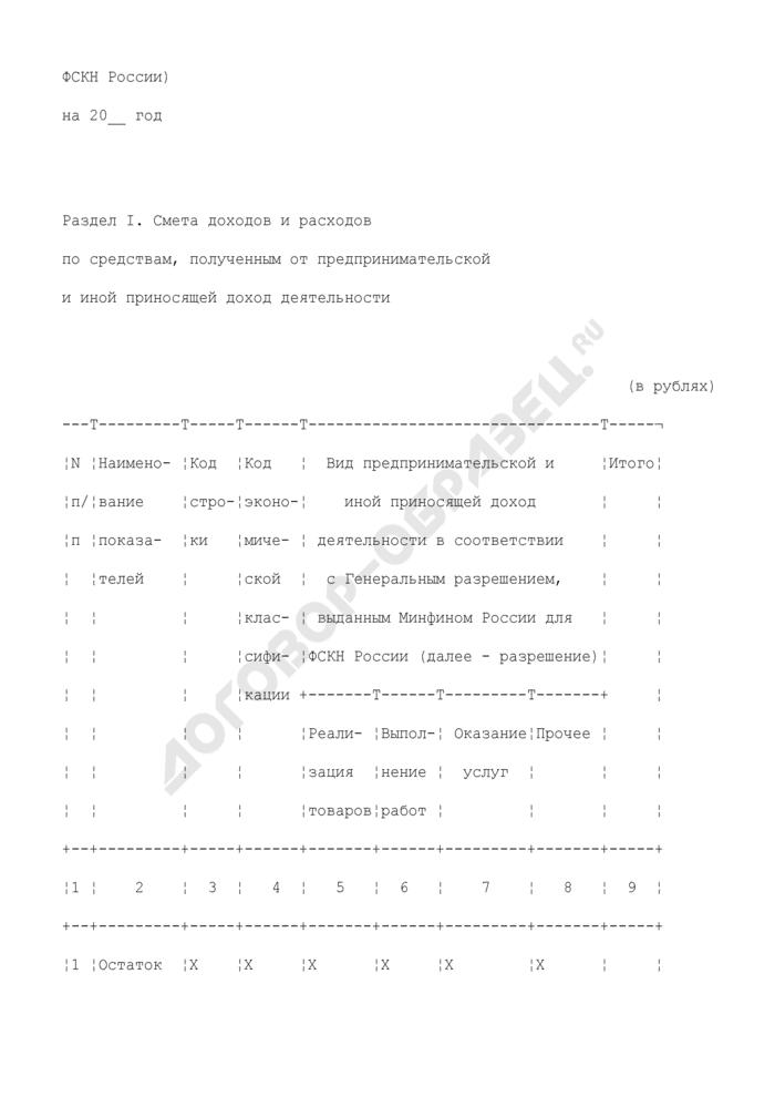 Сводная смета доходов и расходов по средствам, полученным за счет внебюджетных источников финансирования. Форма N 1-ВС. Страница 2