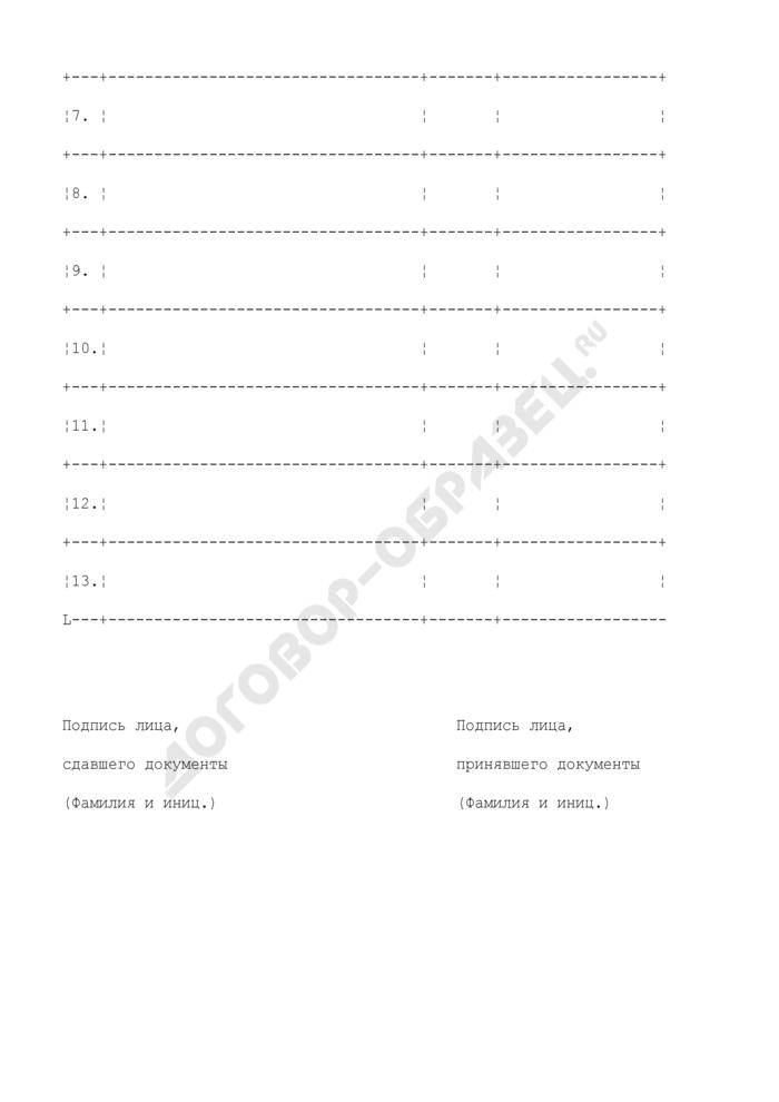 Список документов, принятых для прохождения аккредитации в области физической культуры и спорта. Страница 2