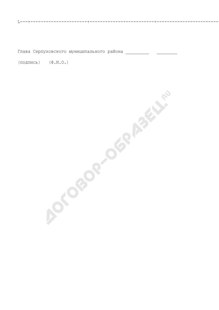 Список лиц, направляемых на профессиональную переподготовку (повышение квалификации) муниципальных служащих администрации Серпуховского муниципального района Московской области. Страница 2
