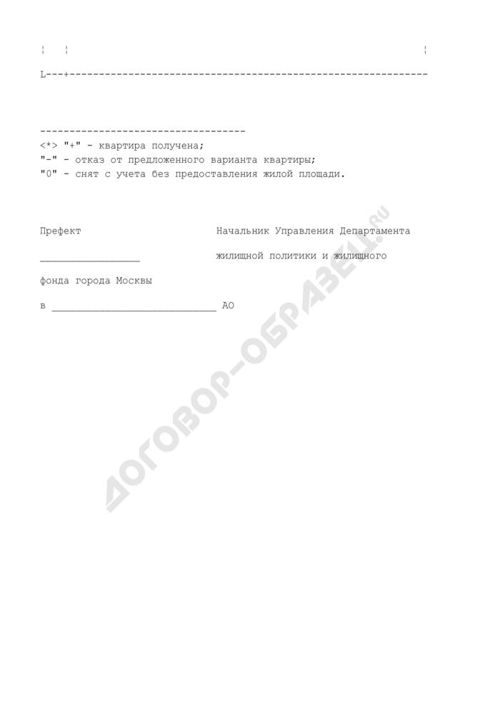 Список очередников, имеющих право на внеочередное улучшение жилищных условий, включенных в план обеспечения жилой площадью в 2005 году. Страница 3