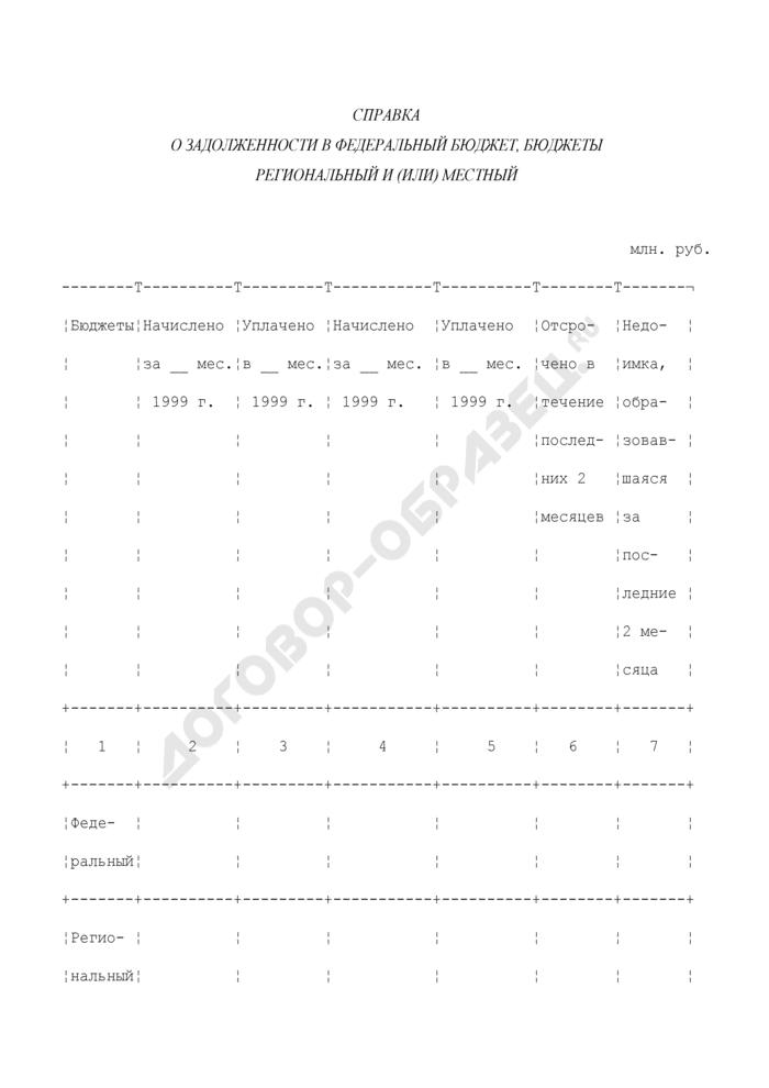 Справка налогового органа, подтверждающая фактическое начисление и поступление платежей по налогам и сборам за последние два месяца до подачи заявления о реструктуризации для организаций, подавших заявления до 1 апреля 2000 г.. Страница 1