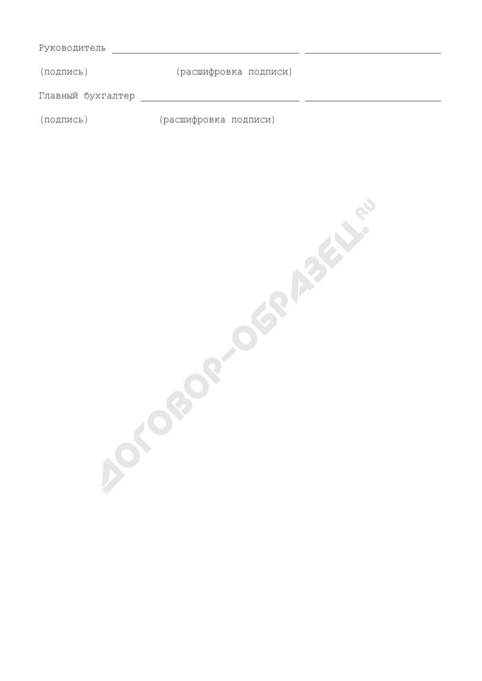 Сведения о проверках состояния бухгалтерского учета и отчетности, проведенных в 2007 году в Московской области. Страница 3