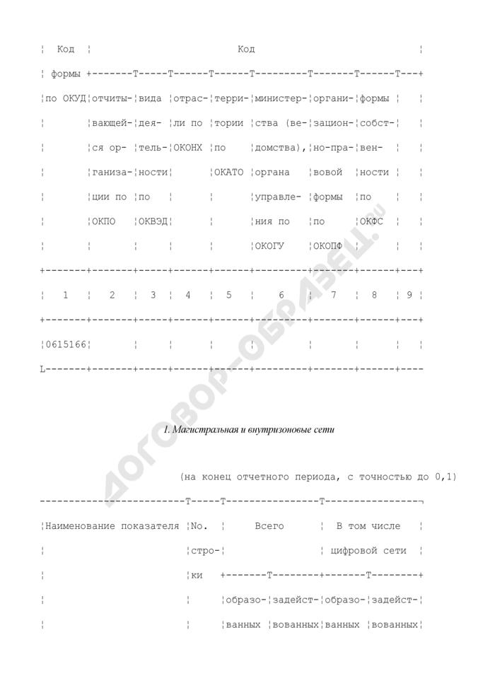 Сведения о технических средствах междугородной и международной телефонной связи. Форма N 41-связь. Страница 3