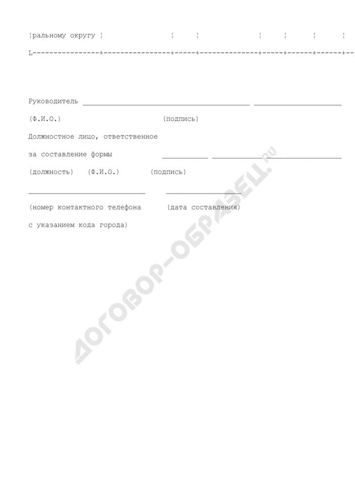 Отчет Департамента лесного хозяйства. Сведения о ведении государственного лесного реестра и предоставлении информации. Форма N 2.10. Страница 2