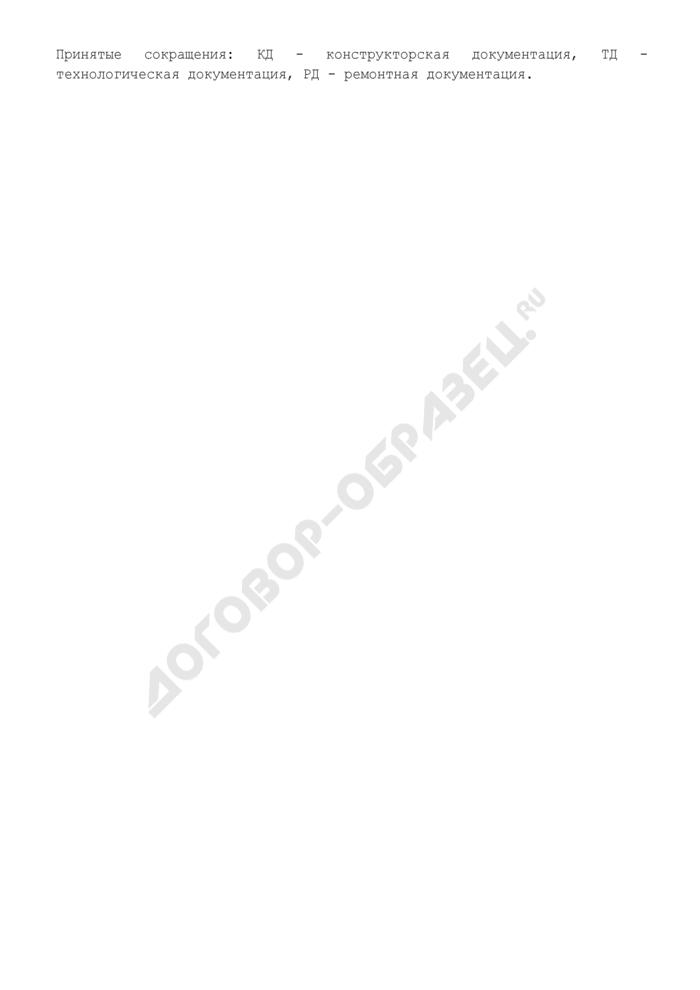 Сведения по качеству документации предприятия, находящегося в сфере ведения и координации Роспрома. Форма N XI/2. Страница 3