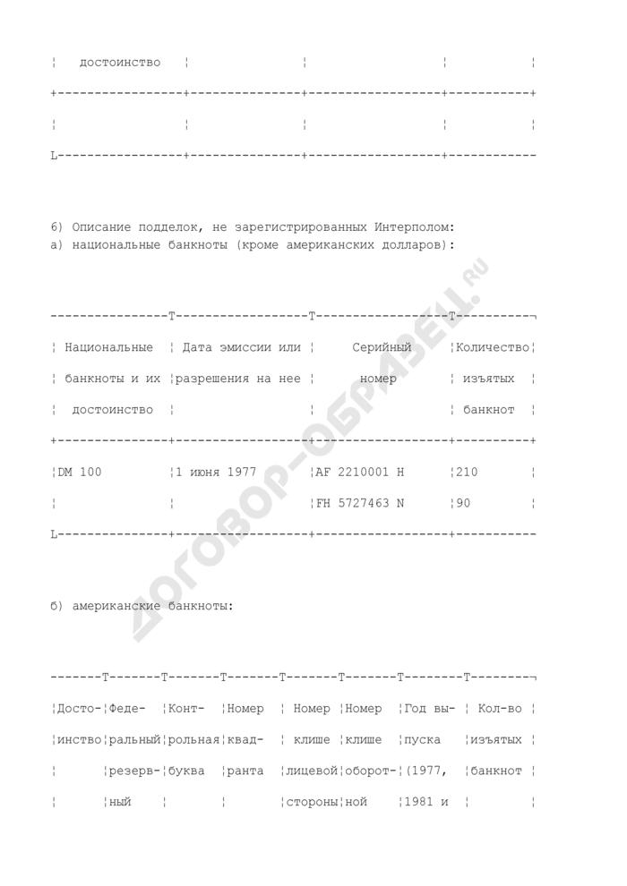 Учетно-регистрационная форма факта обнаружения нелегальной типографии, печатных и литейных форм. Форма N 88-2/F. Страница 2