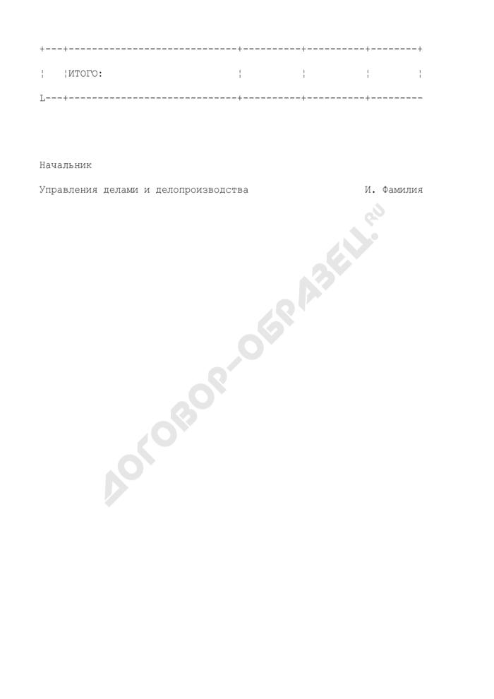 Сведения о документообороте в Федеральной регистрационной службе. Страница 3