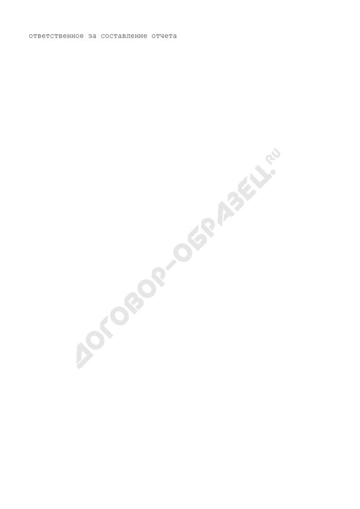 Сведения о жилье, состоящем на балансе Судебного департамента в субъекте Российской Федерации. Форма N В12.4. Страница 3