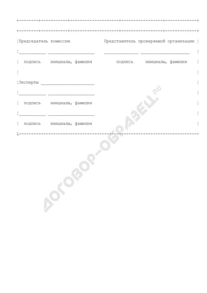 Форма регистрации уведомлений системы менеджмента качества (обязательная форма). Страница 2