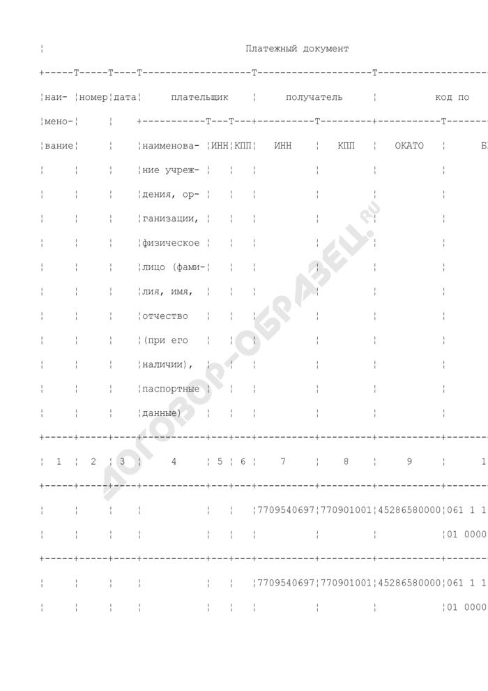Уведомление администратора поступлений в бюджет об уточнении вида и принадлежности поступлений от 20 августа 2008 г.. Страница 2