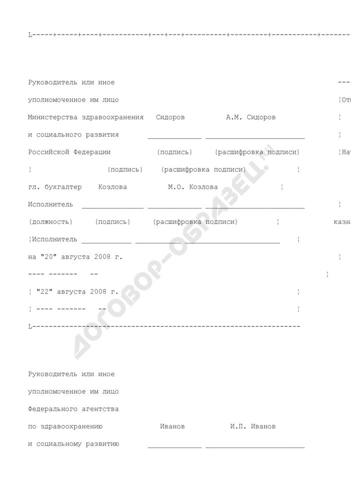 Уведомление администратора поступлений в бюджет об уточнении вида и принадлежности поступлений от 20 августа 2008 г.. Страница 3