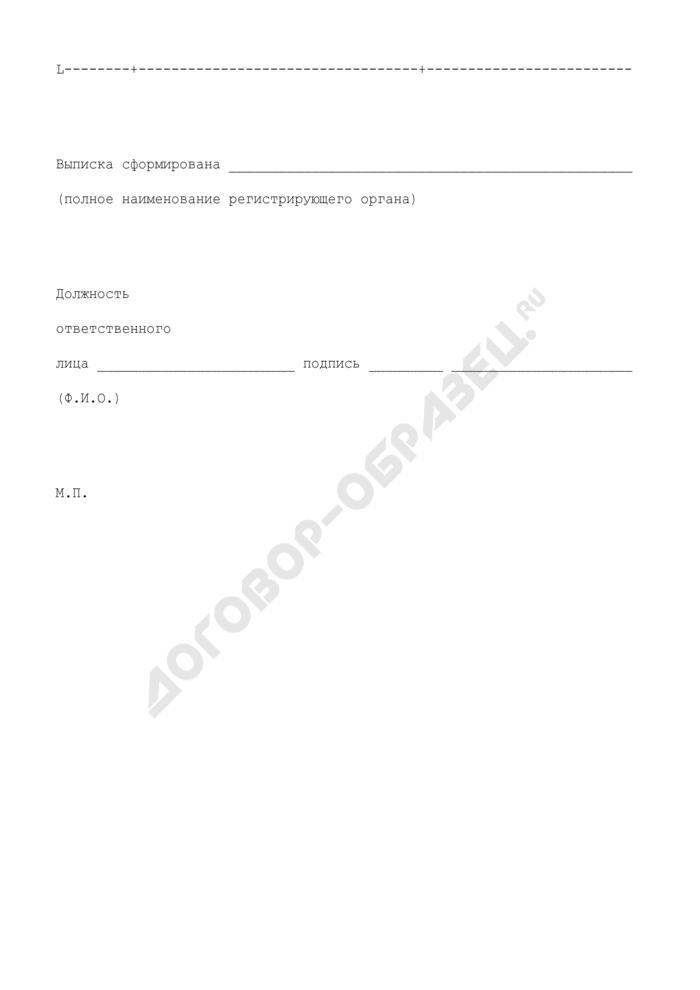 Выписка из Единого государственного реестра юридических лиц. Страница 2