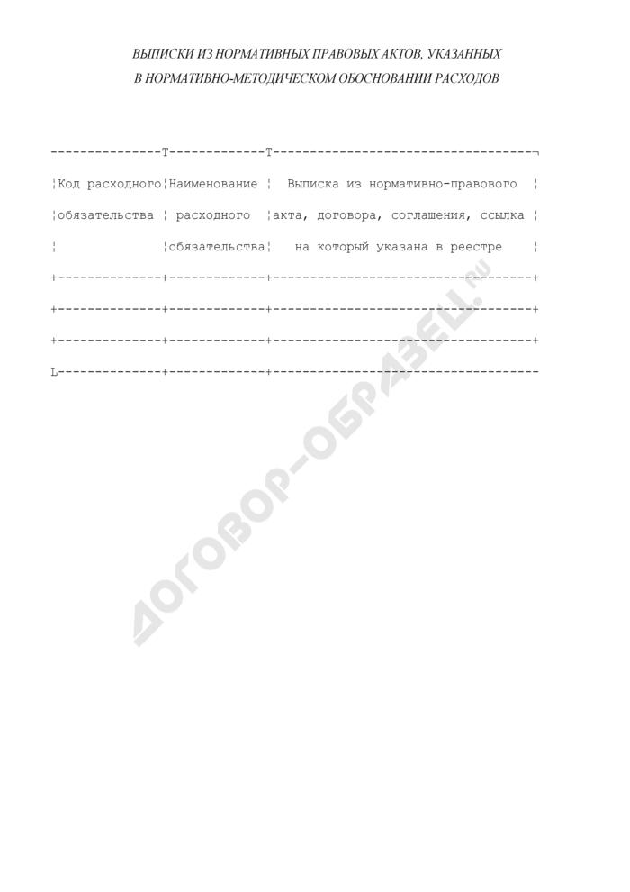Выписки из нормативных правовых актов, указанных в нормативно-методическом обосновании расходов Министерства культуры и массовых коммуникаций Российской Федерации. Страница 1