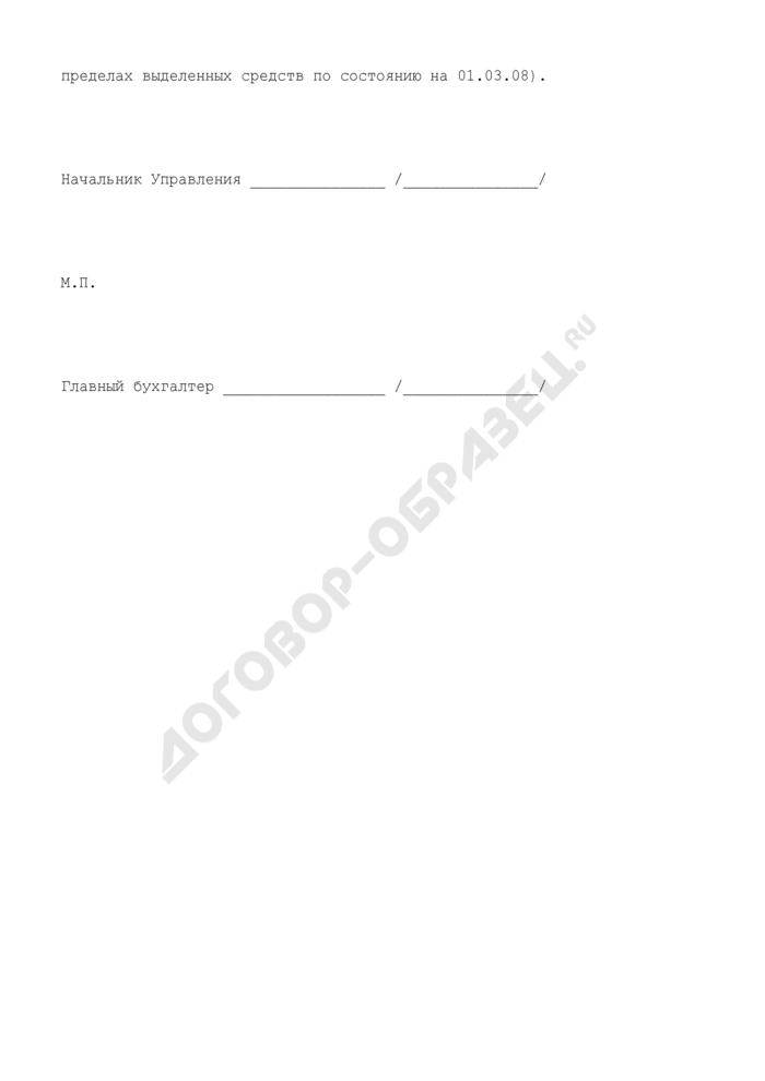 """Бюджетная заявка на финансирование расходов в 2009 - 2011 годах по подстатье КОСГУ 222 """"Транспортные услуги"""" учреждений, подведомственных Ространснадзору. Форма N 3. Страница 3"""