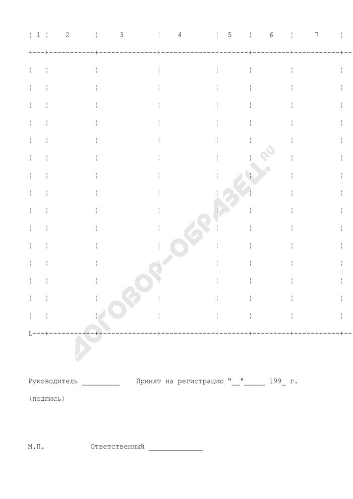 Заявка на получение выписки из Единого городского классификатора лекарственных средств (ЕГК). Страница 2