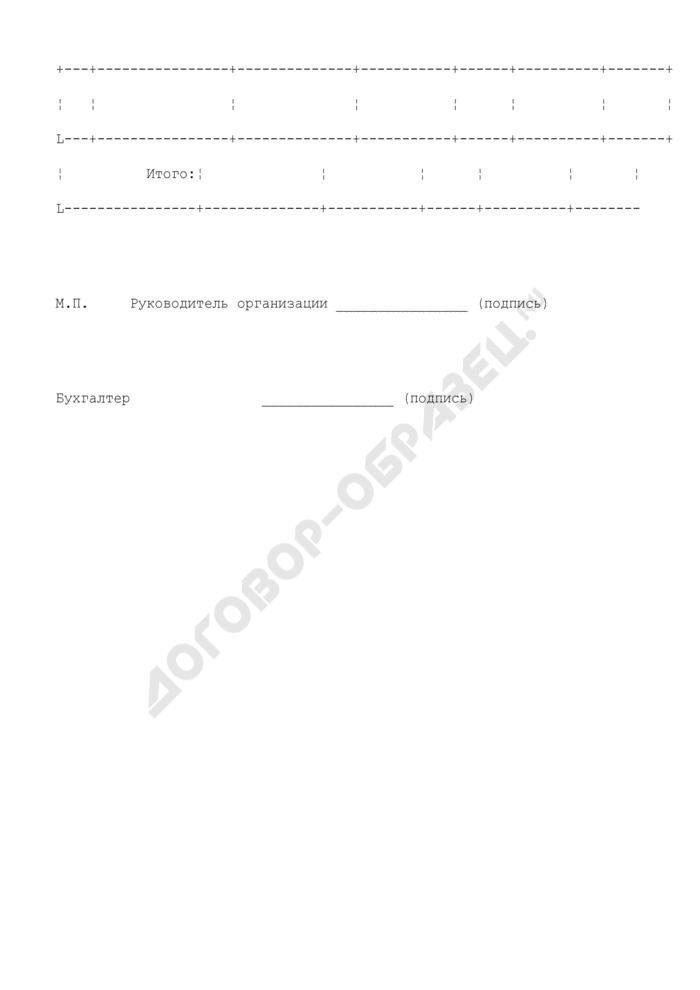 Заявление о приеме ценностей для опробования (анализа и клеймения или других пробирных работ). Форма N 1. Страница 2