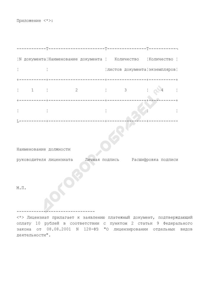 Заявление о выдаче дубликата документа, подтверждающего наличие лицензии на осуществление деятельности (копии документа, подтверждающего наличие лицензии на осуществление деятельности). Страница 3