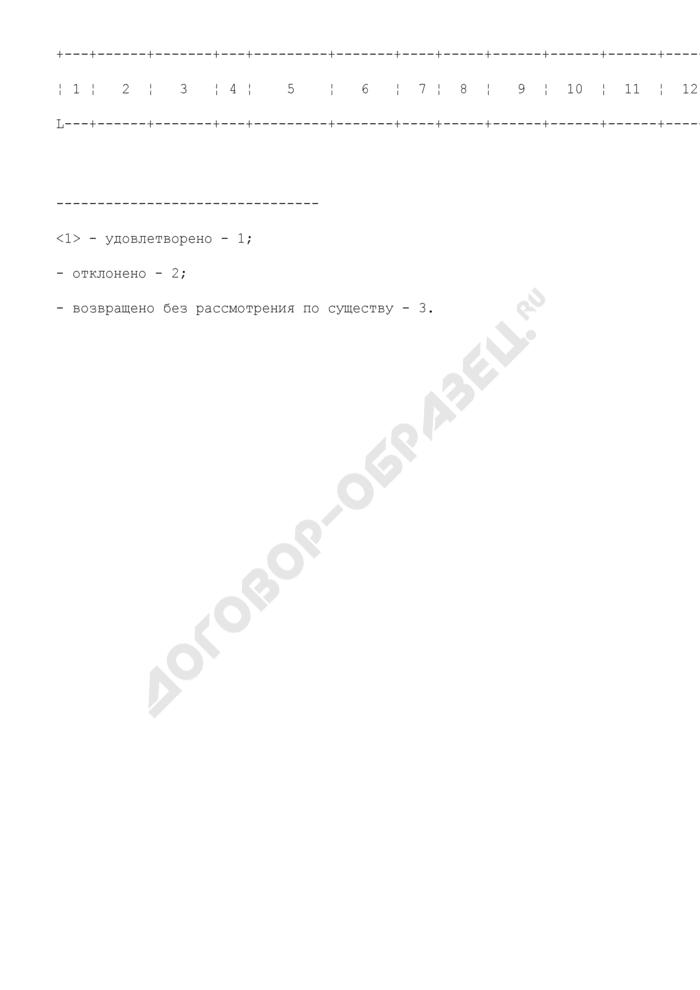 Журнал учета материалов, разрешаемых судом в порядке исполнения приговоров. Форма N 9. Страница 2
