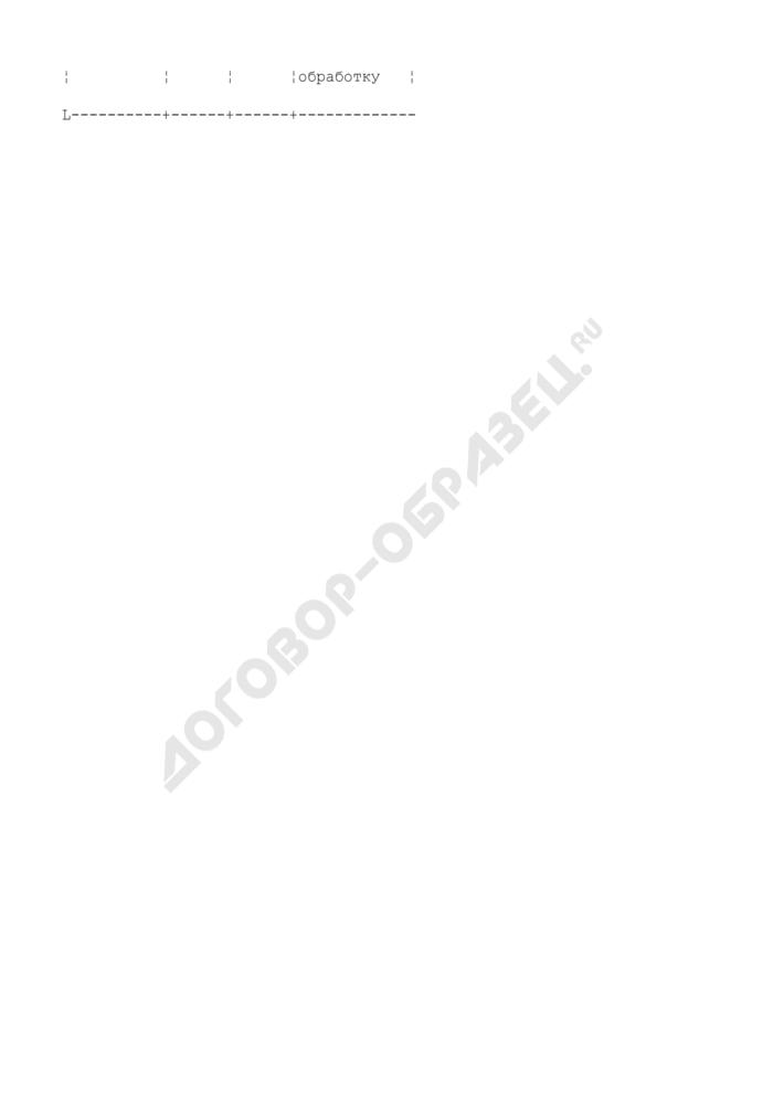 Журнал учета применения пестицидов (на посевах, в садах, теплицах и др.) в бригаде района области, края, республики. Страница 2