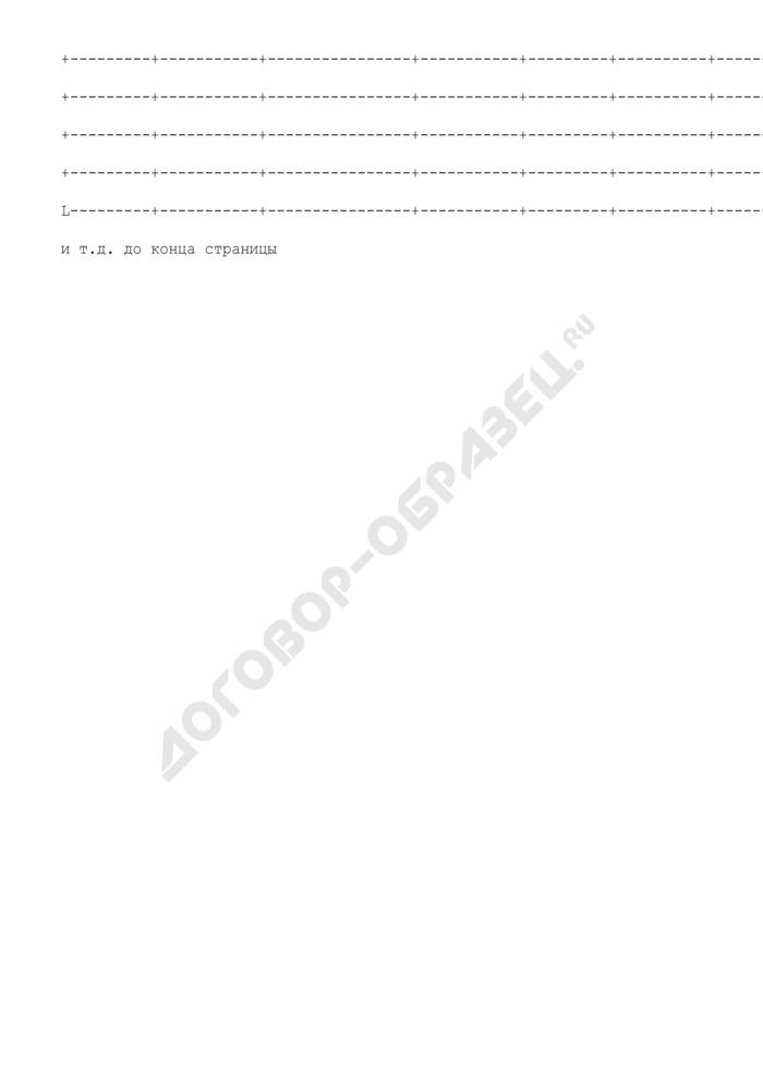 Журнал учета приема больных и отказов в госпитализации. Форма N 001/у. Страница 3