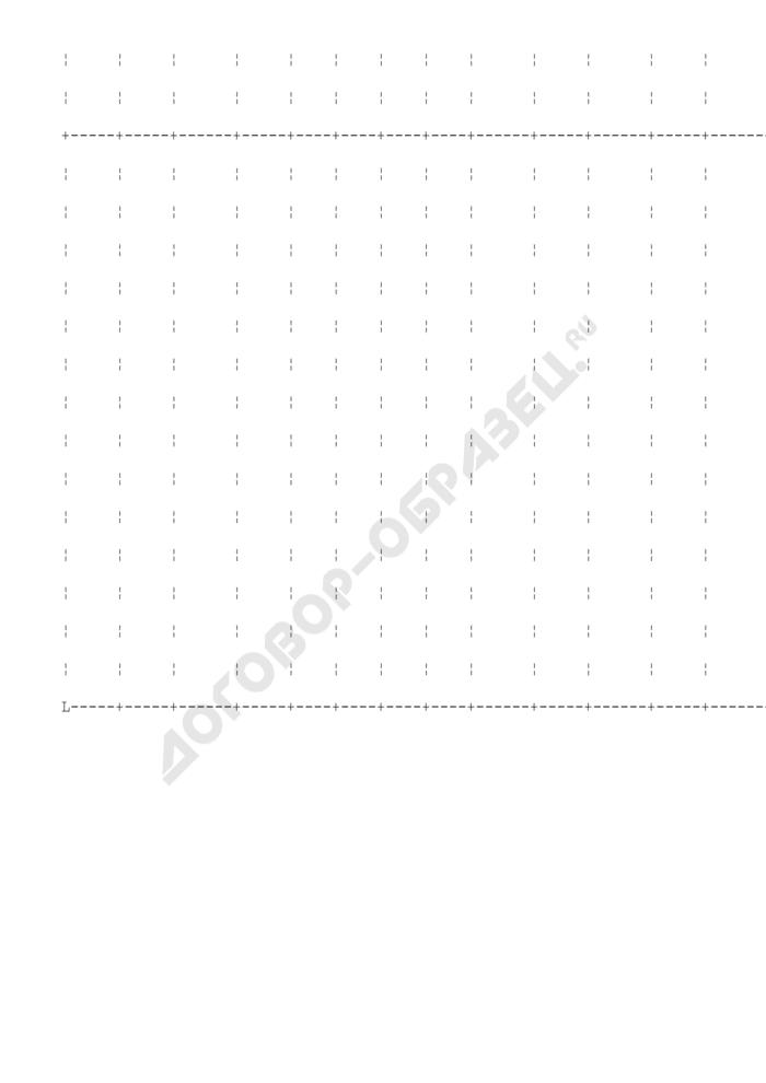 Журнал контрольного взвешивания товаров, вывозимых автогужтранспортом. Специализированная форма N 32-ОТ. Страница 2