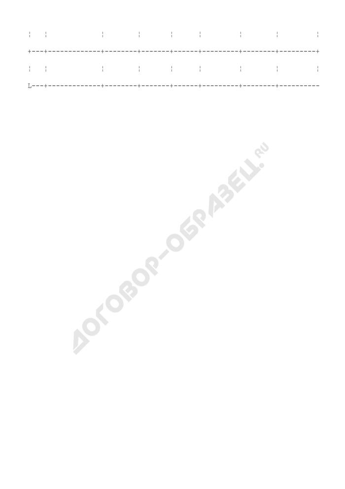 Журнал по учету выдачи единых билетов образовательного учреждения. Страница 2