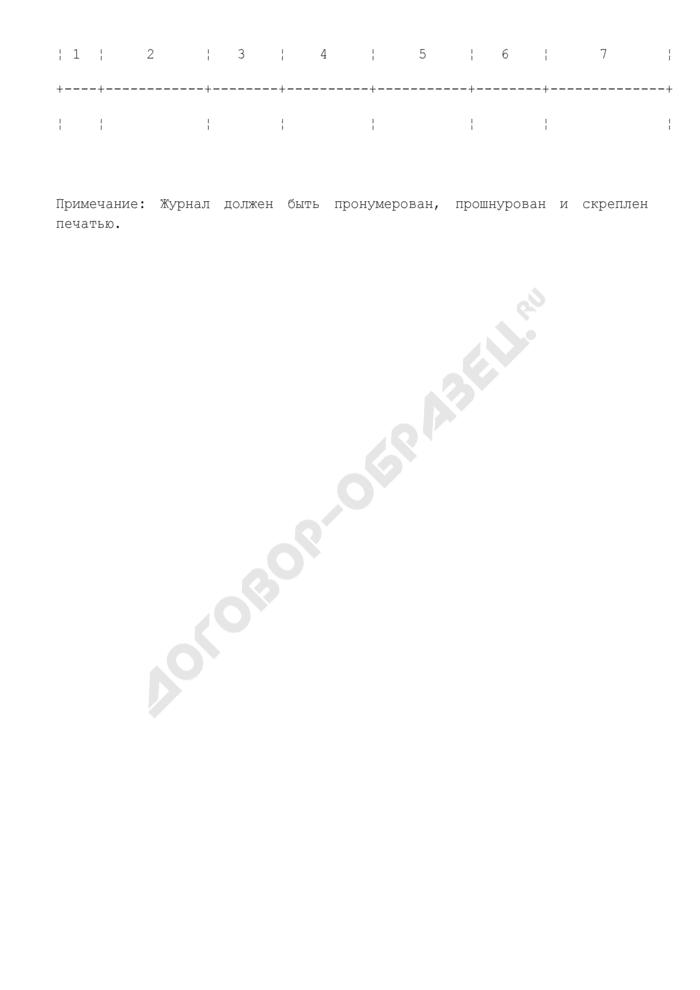Журнал проверок состояния средств сигнализации и регистрации ее срабатывания на объекте культуры. Страница 2