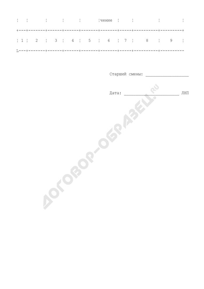 Журнал регистрации заявлений о временном хранении товаров на складе получателя. Страница 2