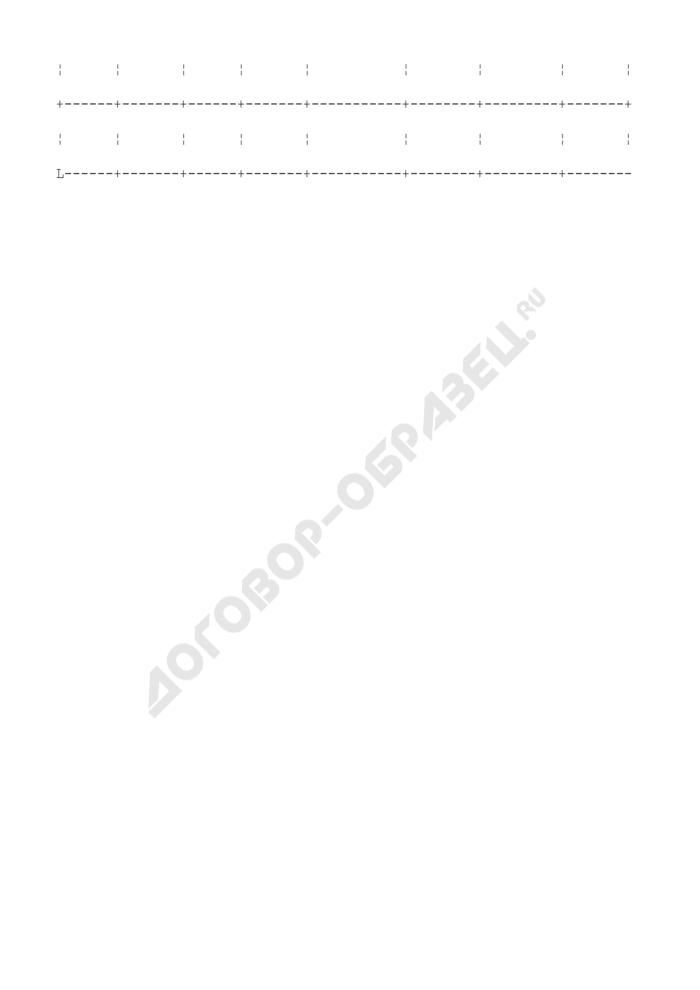 Журнал регистрации входящих документов (приложение к инструкции по делопроизводству). Страница 2