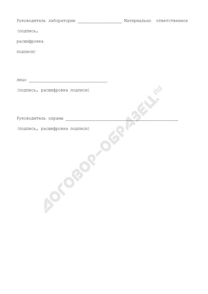 Акт на уничтожение отходов. Отраслевая форма N ЗПП-23. Страница 3