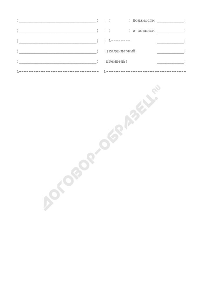 Акт о выявленных расхождениях осмотра и проверки на предмет соответствия поступивших депеш предъявленным документам. Форма N 51. Страница 2
