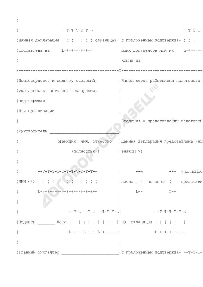 Налоговая декларация по акцизам на алкогольную продукцию, реализуемую с акцизных складов оптовых организаций. Форма N 1151005. Страница 3