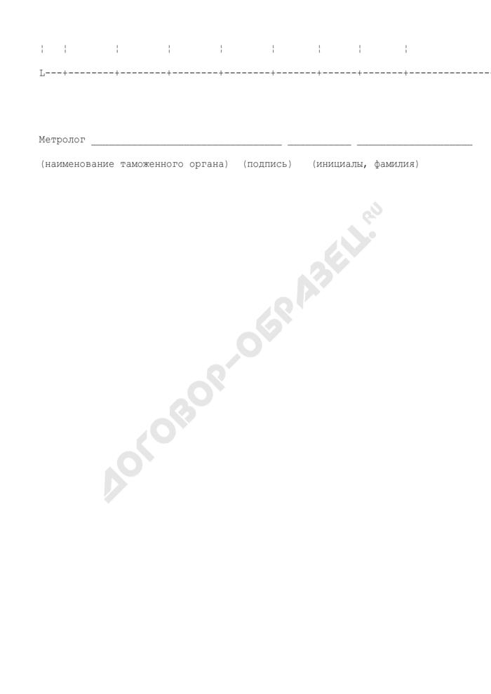 График поверки средств измерений таможенных органов. Страница 2