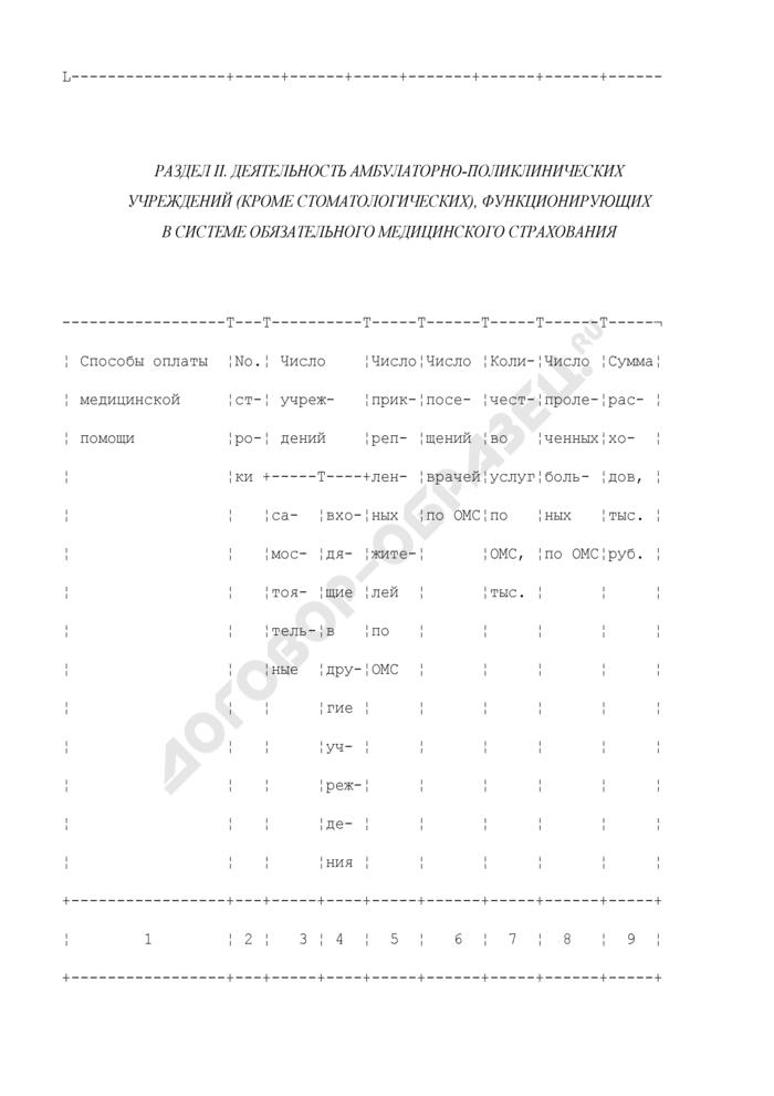Сводный отчет территориального фонда о деятельности лечебно-профилактических учреждений, функционирующих в системе обязательного медицинского страхования. Форма N 52-сводная. Страница 3