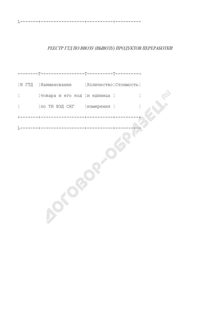 Отчет о выполнении лицензии на переработку. Страница 3