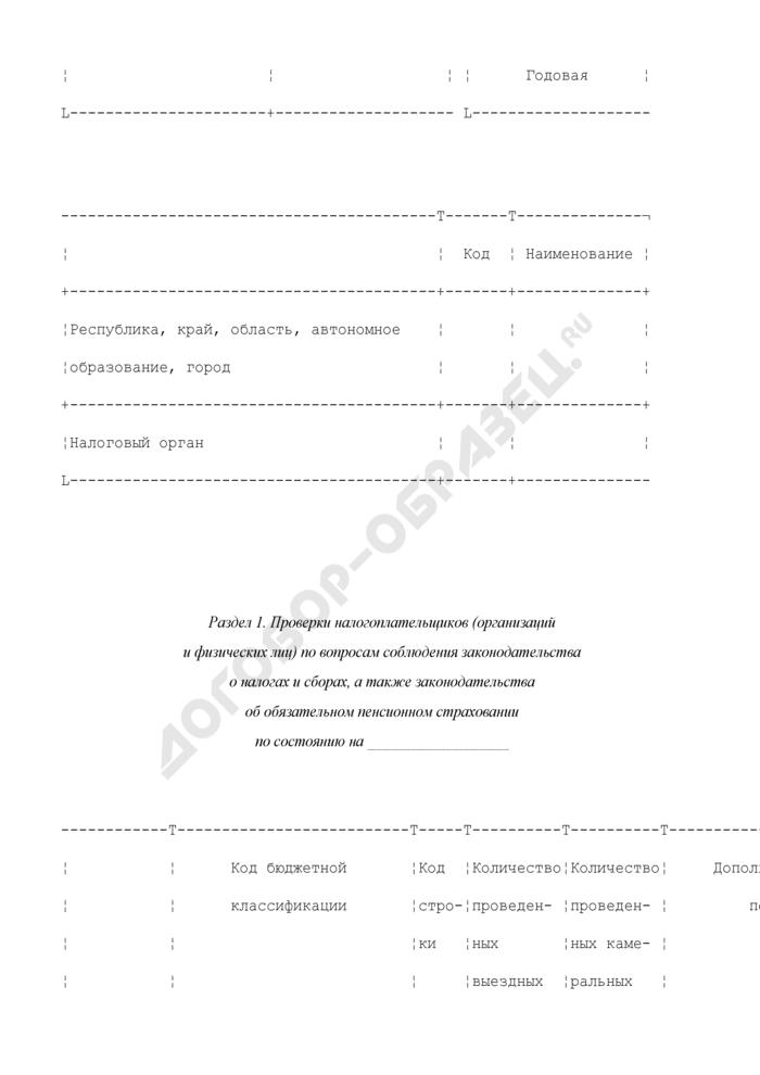 Отчет о результатах контрольной работы налоговых органов по налогоплательщикам, зарегистрированным на территории города Байконура. Форма N 2-Байконур. Страница 2