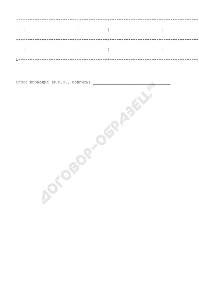 Подписной лист по сбору подписей граждан г. Троицк Московской области против градостроительной деятельности. Страница 2
