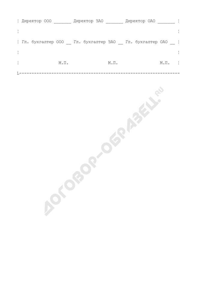 Соглашение о погашении задолженности. Страница 3