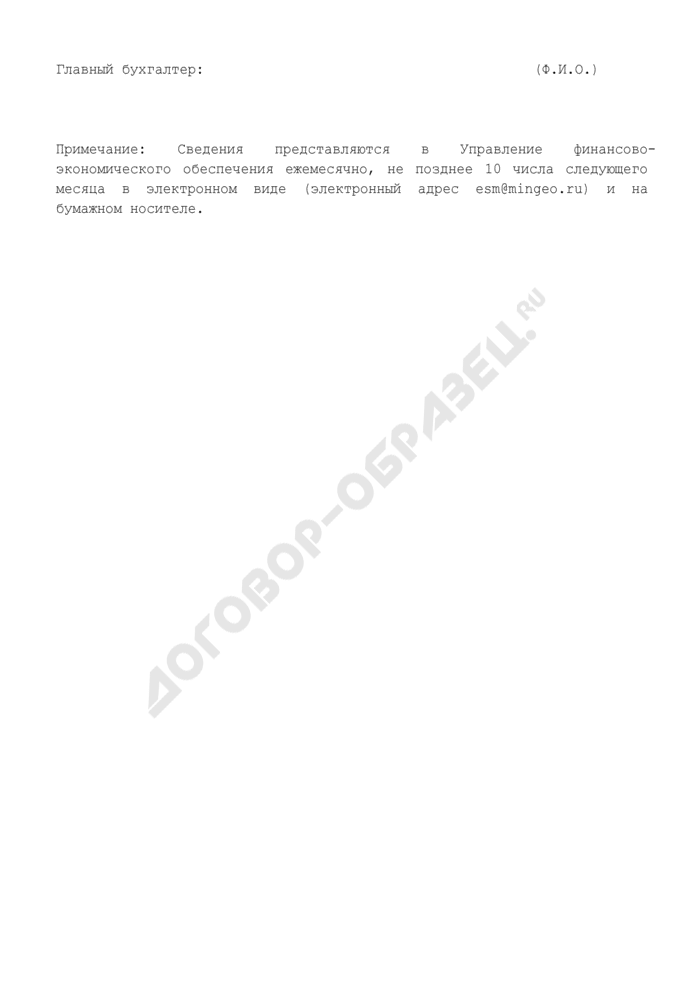Сведения о поступлении платы за проведение государственной экспертизы запасов полезных ископаемых при пользовании недрами, зачисляемой в федеральный бюджет. Страница 2