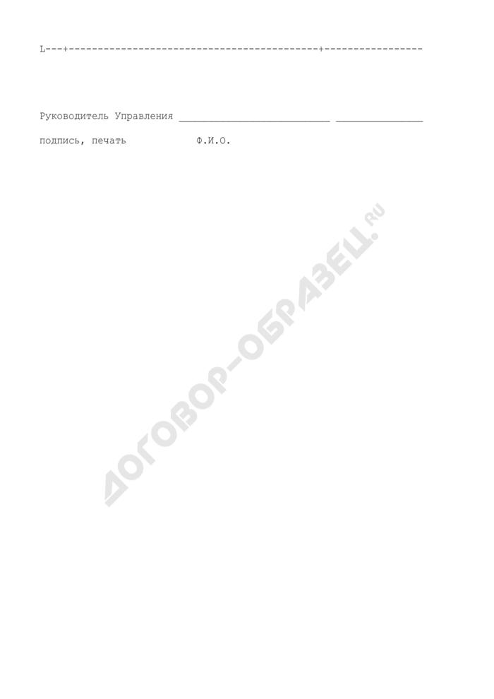 Образец оборотной стороны бланка свидетельства о регистрации судовых радиостанций. Страница 2